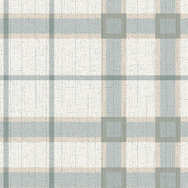 Duka Duvar Kağıdı Freedom Plaid DK.14114-3 (16,2 m2) Renkli